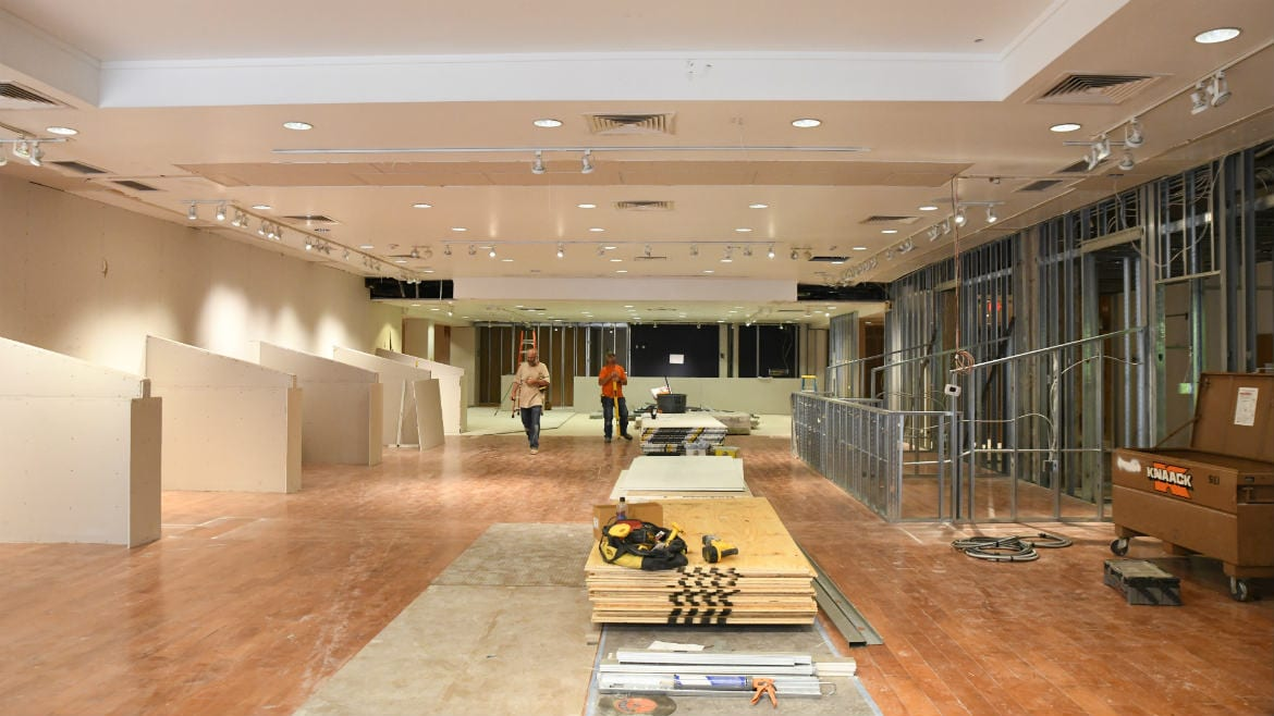 A look inside the future home of Made in KC on the Plaza.