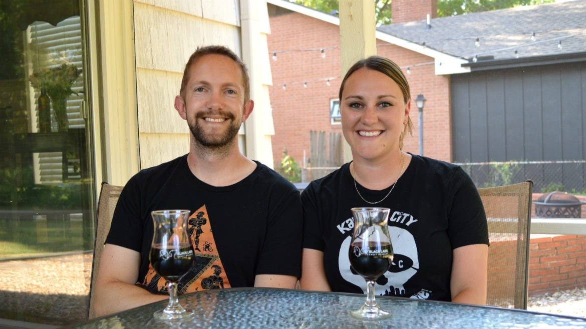 Carl (left) and Julie Hinchey are the husband-and-wife duo behind Black Labs Craft Meadery, which will debut two kinds of mead at Brew Lab later this month
