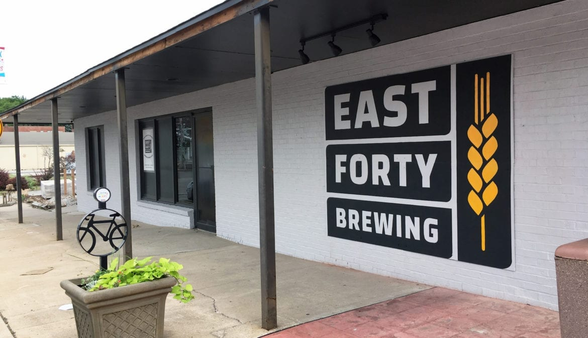 East Forty Brewing is set to open this week in Blue Springs.