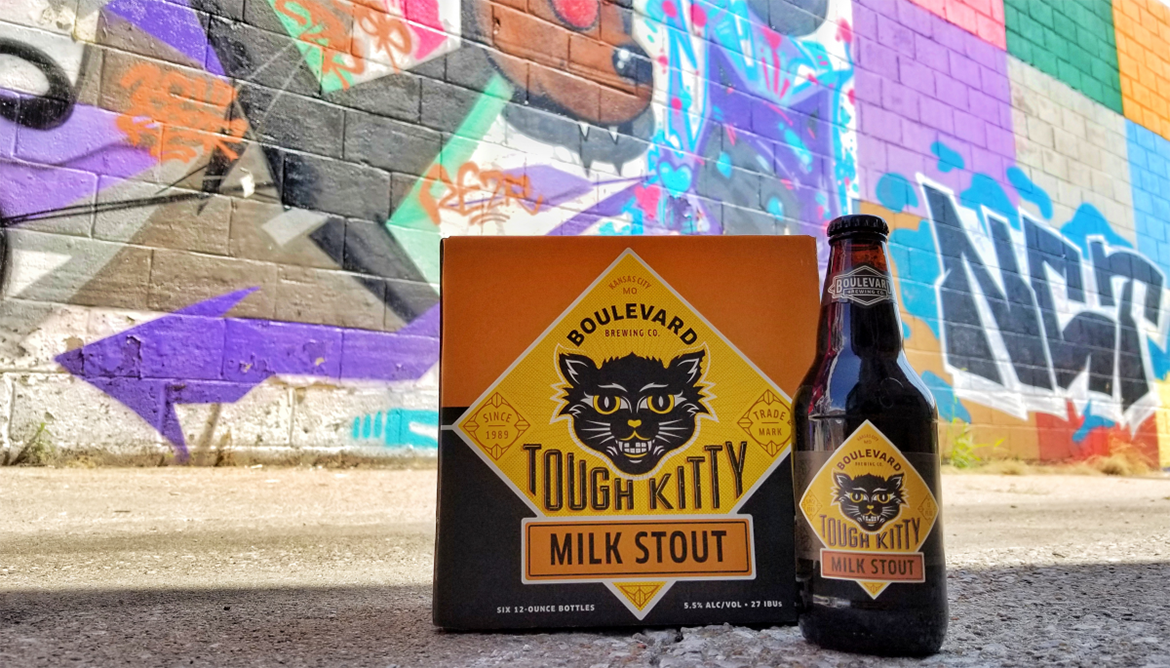 Boulevard's Tough Kitty Milk Stout