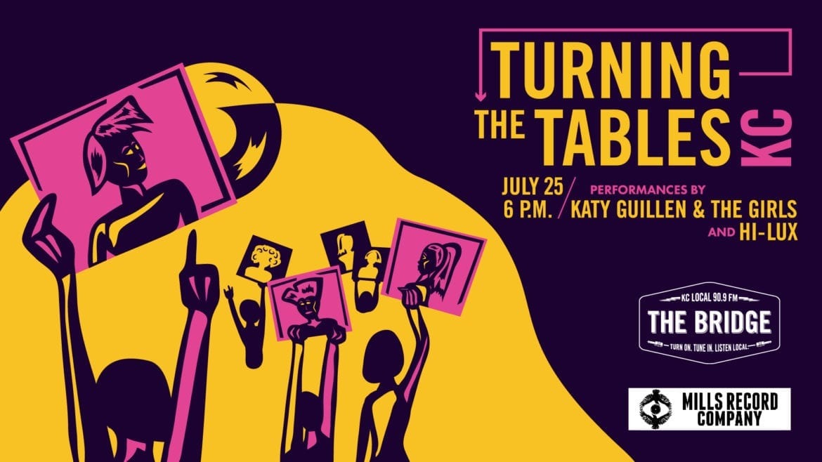 Event poster for Turning the Tables KC: Showcase
