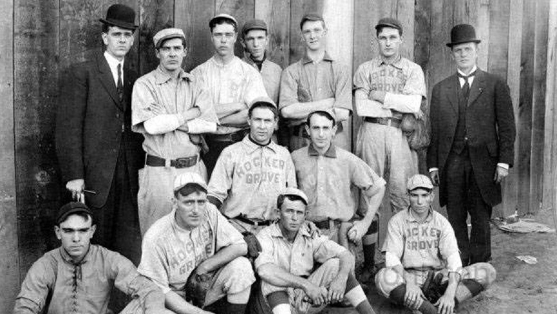 The Hocker Grove Baseball team