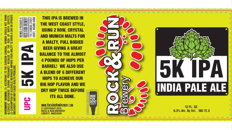 Rock & Run's 5K IPA
